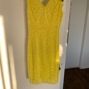 Lace neon xoxo cocktail dress